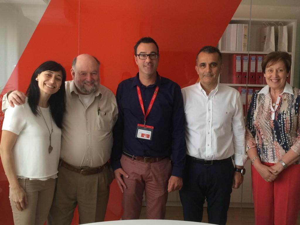 El equipo que irá al ICOT 2015 de la mano de Robert Swartz