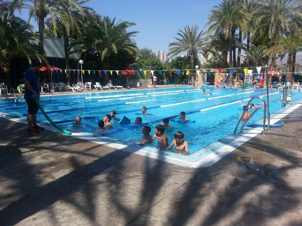 Las actividades acuáticas están presentes en todos los Campus