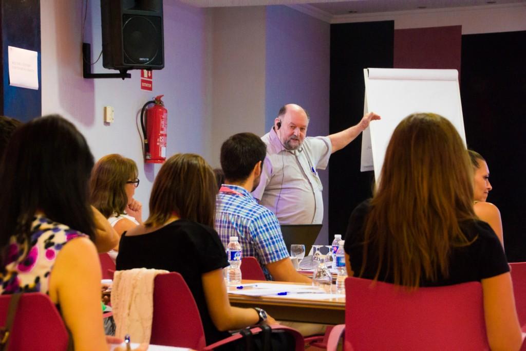 Robert Swartz durante el seminario