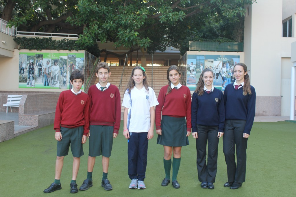 Los seis alumnos premiados del Lope de Vega