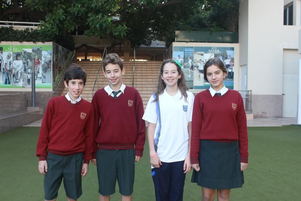 Los alumnos que han obtenido el Premio Extraordinario en Primaria