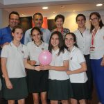 El equipo ganador, formado por alumnas  de 2º de ESO